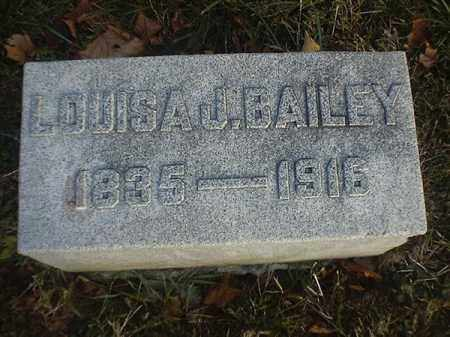 BAILEY, LOUISA  J - Brown County, Ohio | LOUISA  J BAILEY - Ohio Gravestone Photos