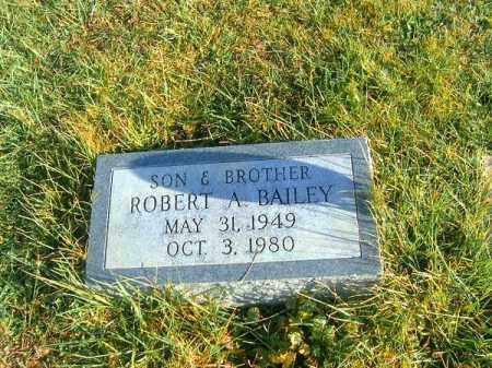 BAILEY, ROBERT  A - Brown County, Ohio | ROBERT  A BAILEY - Ohio Gravestone Photos