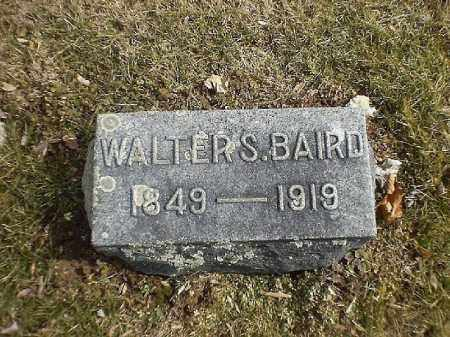 BAIRD, WALTER   S - Brown County, Ohio | WALTER   S BAIRD - Ohio Gravestone Photos
