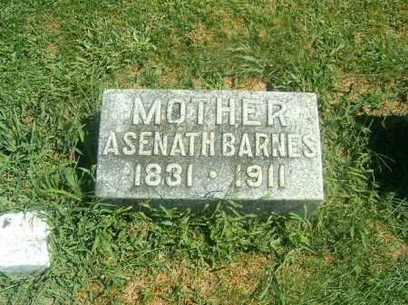 BARNES, ASENATH - Brown County, Ohio | ASENATH BARNES - Ohio Gravestone Photos