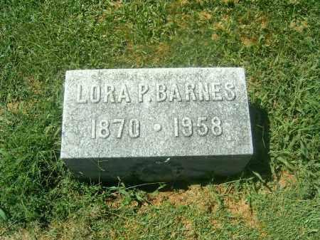 BARNES, LORA   P - Brown County, Ohio | LORA   P BARNES - Ohio Gravestone Photos