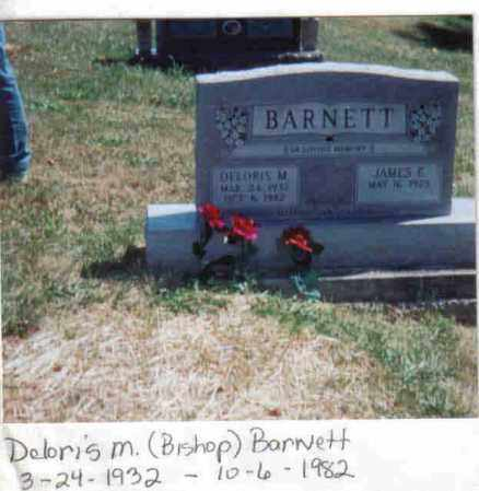 BISHOP BARNETT, DELORIS M. - Brown County, Ohio | DELORIS M. BISHOP BARNETT - Ohio Gravestone Photos