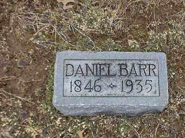 BARR, DANIEL - Brown County, Ohio | DANIEL BARR - Ohio Gravestone Photos