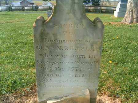 BEASLEY, NATHANIEL - Brown County, Ohio   NATHANIEL BEASLEY - Ohio Gravestone Photos