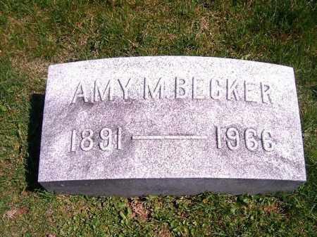 BECKER, AMY   M - Brown County, Ohio | AMY   M BECKER - Ohio Gravestone Photos