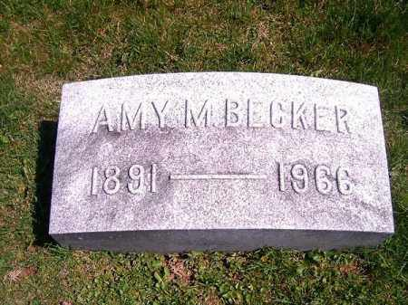 BECKER, AMY   M - Brown County, Ohio | AMY   M BECKER - Ohio Gravestone Photos
