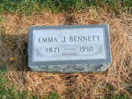 BENNETT, EMMA  J - Brown County, Ohio | EMMA  J BENNETT - Ohio Gravestone Photos