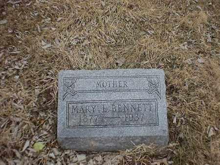 BENNETT, MARY  L - Brown County, Ohio | MARY  L BENNETT - Ohio Gravestone Photos