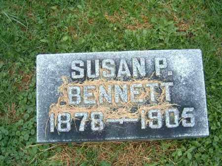 BENNETT, SUSAN  P - Brown County, Ohio   SUSAN  P BENNETT - Ohio Gravestone Photos