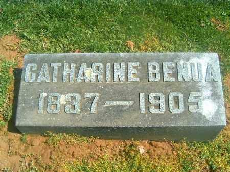 BENUA, CATHERINE - Brown County, Ohio | CATHERINE BENUA - Ohio Gravestone Photos