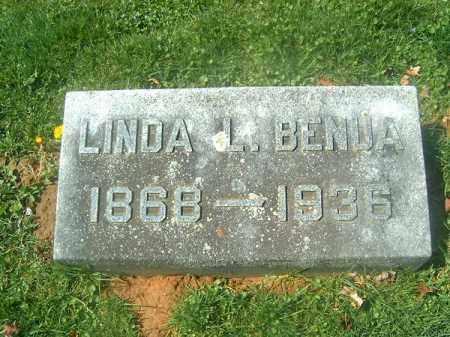 BENUA, LINDA  L - Brown County, Ohio   LINDA  L BENUA - Ohio Gravestone Photos