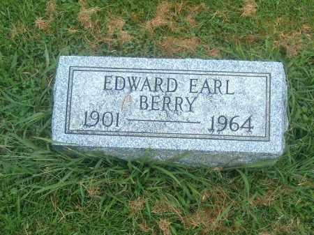 BERRY, EDWARD EARL - Brown County, Ohio | EDWARD EARL BERRY - Ohio Gravestone Photos