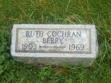 COCHRAN BERRY, RUTH - Brown County, Ohio   RUTH COCHRAN BERRY - Ohio Gravestone Photos