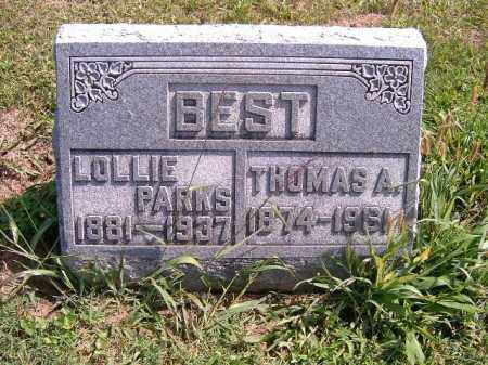 BEST, LOLLIE - Brown County, Ohio | LOLLIE BEST - Ohio Gravestone Photos