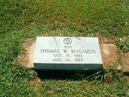 BINGAMON, THOMAS  W - Brown County, Ohio | THOMAS  W BINGAMON - Ohio Gravestone Photos