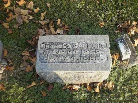 BLAIR, CHARLES  A - Brown County, Ohio | CHARLES  A BLAIR - Ohio Gravestone Photos