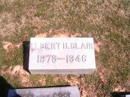 BLAIR, ELBERT  H - Brown County, Ohio | ELBERT  H BLAIR - Ohio Gravestone Photos