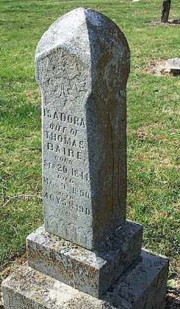 BLAIR, ISADORA - Brown County, Ohio | ISADORA BLAIR - Ohio Gravestone Photos