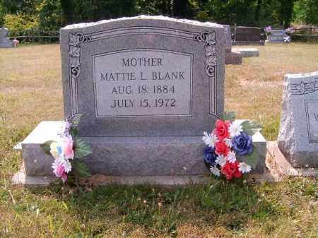 BLANK, MATTIE - Brown County, Ohio | MATTIE BLANK - Ohio Gravestone Photos