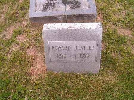 BLATTER, EDWARD - Brown County, Ohio | EDWARD BLATTER - Ohio Gravestone Photos