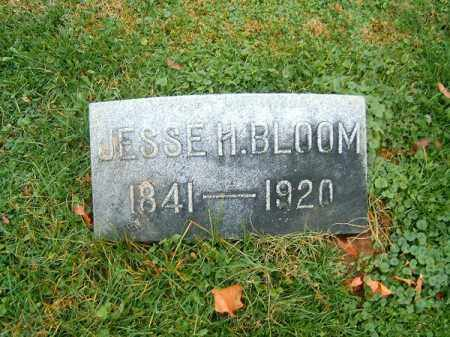 BLOOM, JESSE  H - Brown County, Ohio | JESSE  H BLOOM - Ohio Gravestone Photos