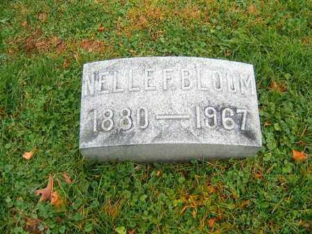 BLOOM, NELLE  F - Brown County, Ohio | NELLE  F BLOOM - Ohio Gravestone Photos
