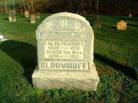 BLOOMHUFF, TAMER - Brown County, Ohio | TAMER BLOOMHUFF - Ohio Gravestone Photos