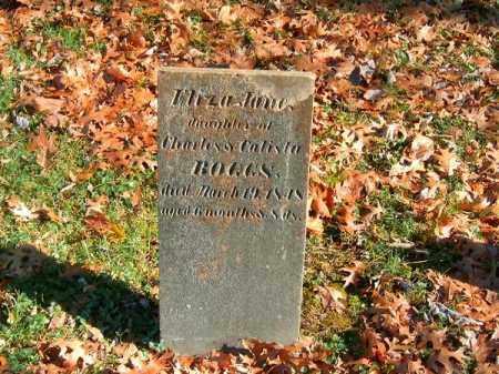 BOGGS, ELIZA  JANE - Brown County, Ohio | ELIZA  JANE BOGGS - Ohio Gravestone Photos