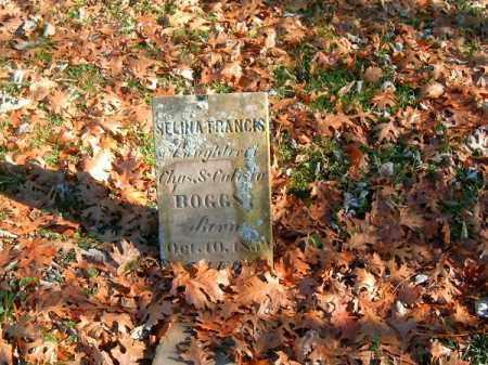 BOGGS, SALINE FRANCIS - Brown County, Ohio | SALINE FRANCIS BOGGS - Ohio Gravestone Photos