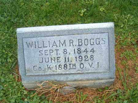 BOGGS, WILLIAM R - Brown County, Ohio | WILLIAM R BOGGS - Ohio Gravestone Photos