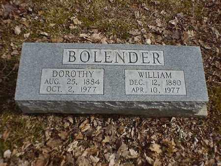 BOLENDER, WILLIAM - Brown County, Ohio | WILLIAM BOLENDER - Ohio Gravestone Photos