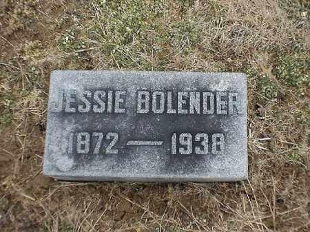 BOLENDER, JESSIE - Brown County, Ohio   JESSIE BOLENDER - Ohio Gravestone Photos