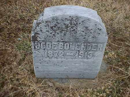 BOLENDER, JODE - Brown County, Ohio   JODE BOLENDER - Ohio Gravestone Photos