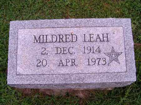 BOLES, MILDRED LEAH - Brown County, Ohio   MILDRED LEAH BOLES - Ohio Gravestone Photos