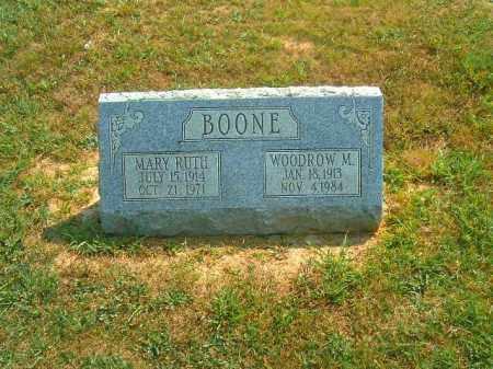 BOONE, MARY  RUTH - Brown County, Ohio   MARY  RUTH BOONE - Ohio Gravestone Photos