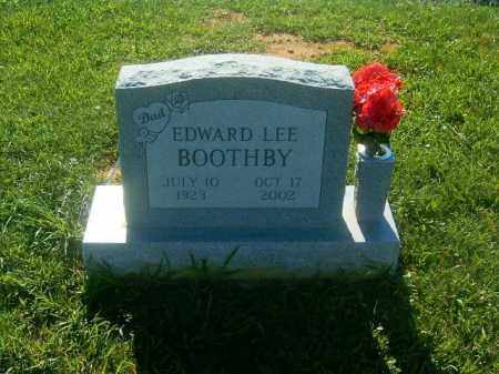BOOTHBY, EDWARD  LEE - Brown County, Ohio | EDWARD  LEE BOOTHBY - Ohio Gravestone Photos