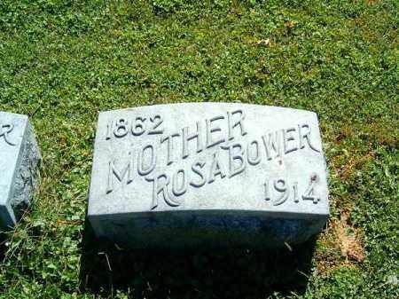 BOWER, ROSA - Brown County, Ohio | ROSA BOWER - Ohio Gravestone Photos