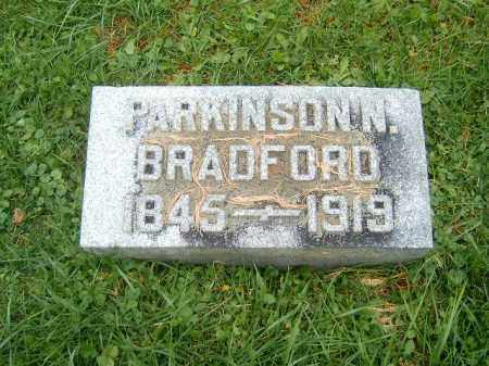 BRADFORD, PARKINSON  N - Brown County, Ohio | PARKINSON  N BRADFORD - Ohio Gravestone Photos