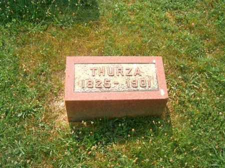 BRADY, THURZA - Brown County, Ohio | THURZA BRADY - Ohio Gravestone Photos