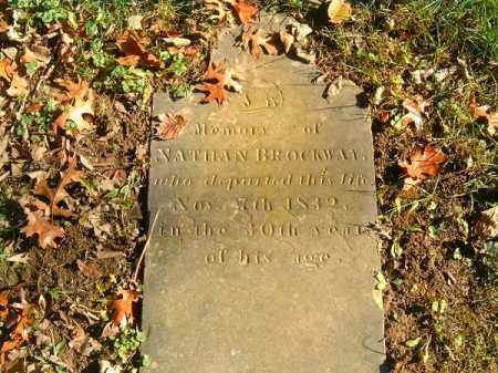 BROCKWAY, NATHAN - Brown County, Ohio | NATHAN BROCKWAY - Ohio Gravestone Photos