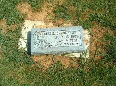 BROOKBANK, BESSIE - Brown County, Ohio | BESSIE BROOKBANK - Ohio Gravestone Photos