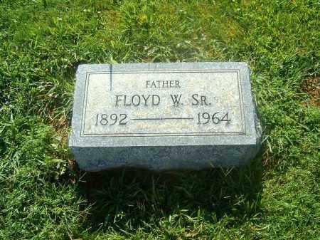 BROOKBANK, FLOYD  W    SR - Brown County, Ohio   FLOYD  W    SR BROOKBANK - Ohio Gravestone Photos