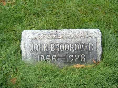 BROOKOVER, JOHN - Brown County, Ohio   JOHN BROOKOVER - Ohio Gravestone Photos