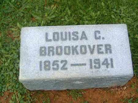 BROOKOVER, LOUISA  C - Brown County, Ohio | LOUISA  C BROOKOVER - Ohio Gravestone Photos