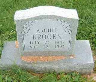 BROOKS, ARCHIE - Brown County, Ohio | ARCHIE BROOKS - Ohio Gravestone Photos
