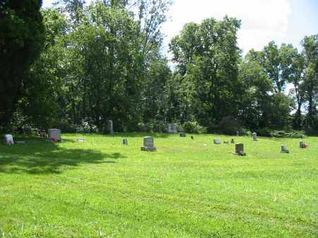 BROOKS FAMILY, CEMETERY VIEW- SOUTHERN SECTION - Brown County, Ohio | CEMETERY VIEW- SOUTHERN SECTION BROOKS FAMILY - Ohio Gravestone Photos