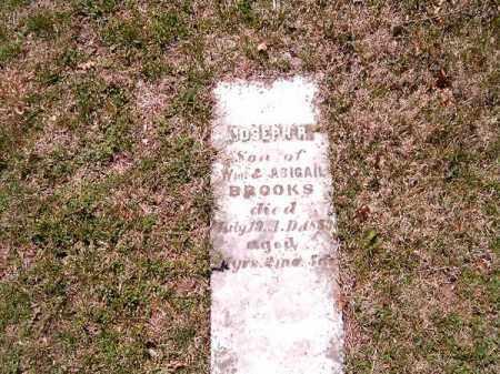 BROOKS, JOSEPH  R - Brown County, Ohio   JOSEPH  R BROOKS - Ohio Gravestone Photos