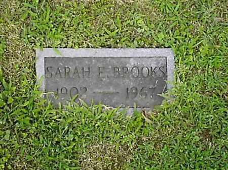 BROOKS, SARAH  E - Brown County, Ohio   SARAH  E BROOKS - Ohio Gravestone Photos