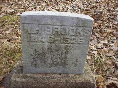 BROOKS, W  H - Brown County, Ohio | W  H BROOKS - Ohio Gravestone Photos