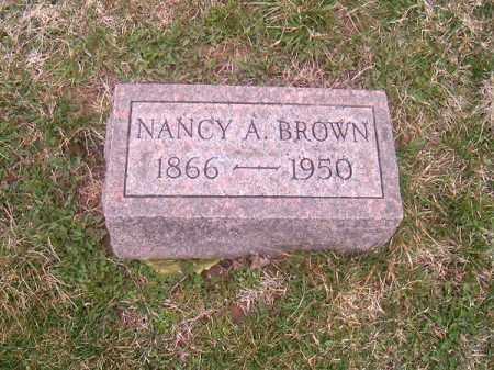 BROWN, NANCY  A - Brown County, Ohio | NANCY  A BROWN - Ohio Gravestone Photos